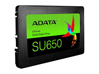 "ADATA Ultimate SU650 2.5"" 240GB SATA III 3D NAND Internal Solid"