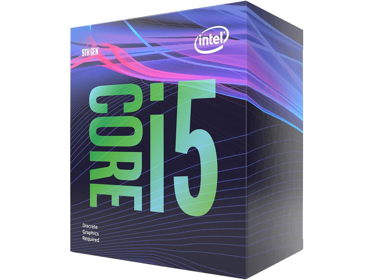 Intel Core i5-9400F Coffee Lake 6-Core 2.9 GHz (4.10 GHz Turbo)