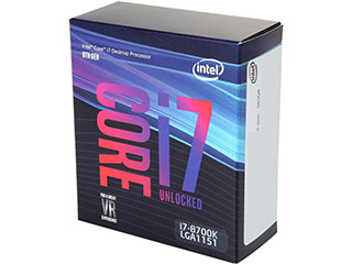 Intel Core i7-9700K Coffee Lake 8-Core 3.6 GHz (4.9 GHz Turbo) L